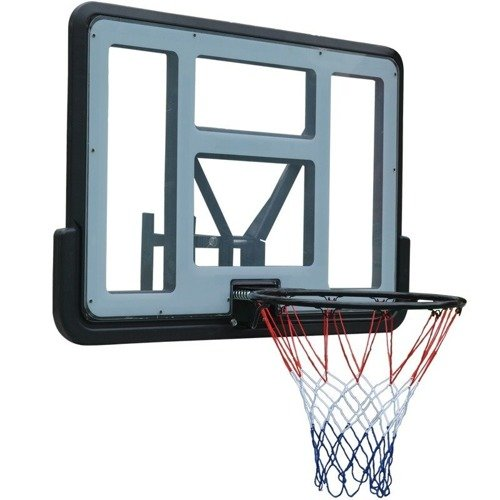 Basketball set Spartan Wall Mounted Backboard 1151 + Spalding Platinum