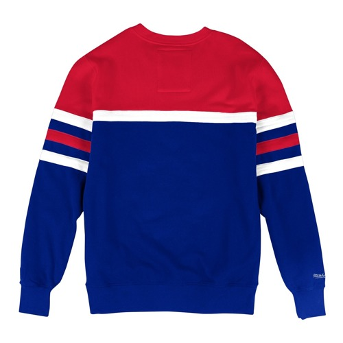 Mitchell & Ness NBA Philadelphia 76ers Head Coach Crewneck