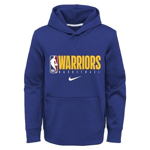 Nike Golden State Warriors Therma Spotlight Youth Hoodie - EZ2B7BBKP-WAR