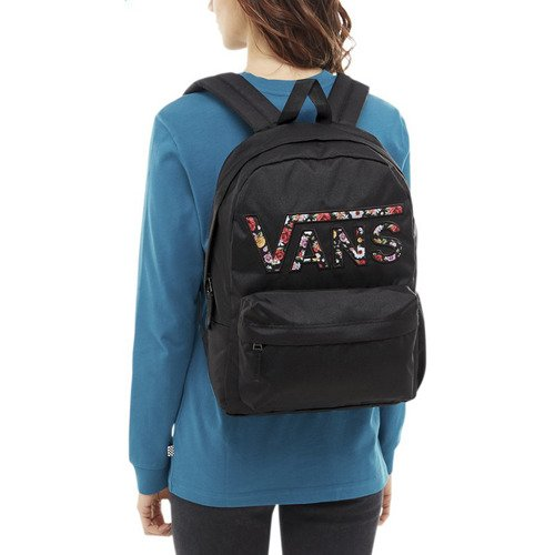 VANS Realm Flying Rucksack Blumen VN0A3UI8YGL 004 + Pencil Pouch + Benched Bag