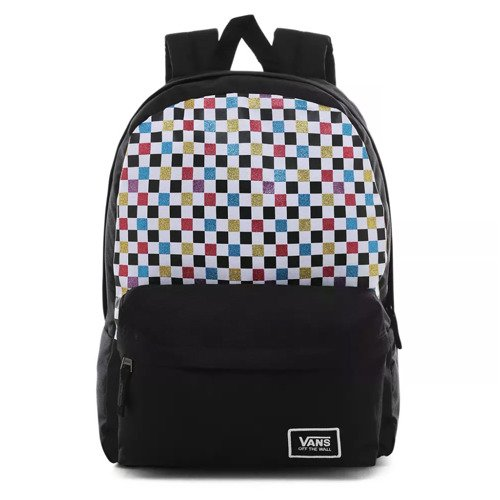 Vans Glitter Check Realm Rucksack - VN0A48HGUX9