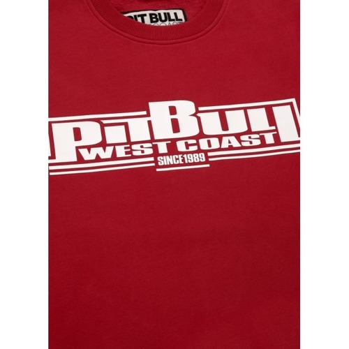 Bluza Pit Bull West Coast Crewneck Boxing 19 Red - 119401450