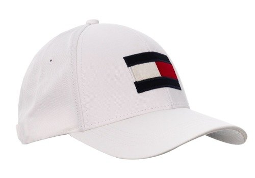 Czapka z daszkiem Tommy Hilfiger Big Flag Custom Rose - AM0AM04508 104