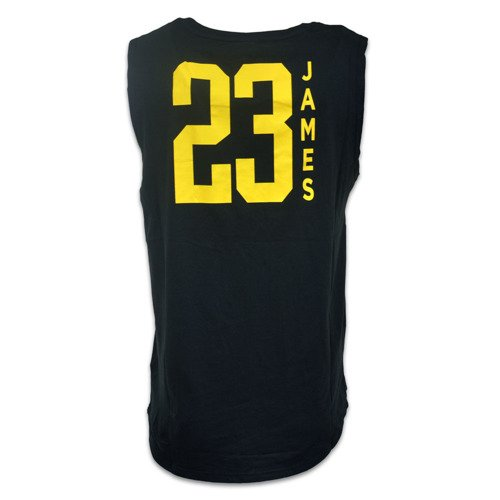 Koszulka NBA Dunked Muscle Tank Los Angeles LA Lakers Lebron James - EK2M1BBTK-LAKJL