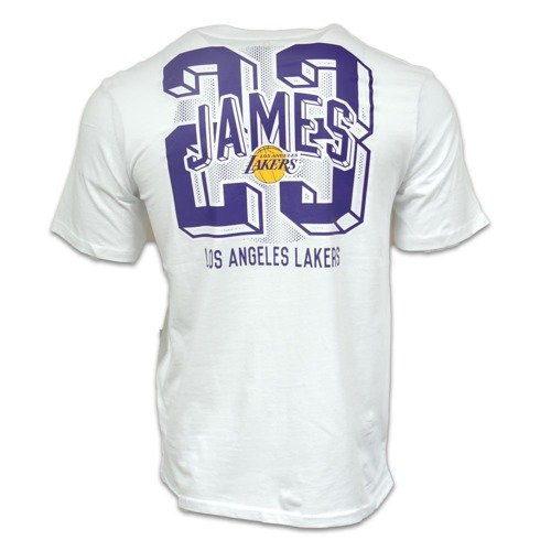 Koszulka NBA Los Angeles Lakers Lebron James Tee - EK2M1BBR5B01-LAKJL