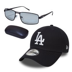 Sunglasses PolarZONE - FP358-1 +  New Era 39THIRTY LA Dodgers Cap