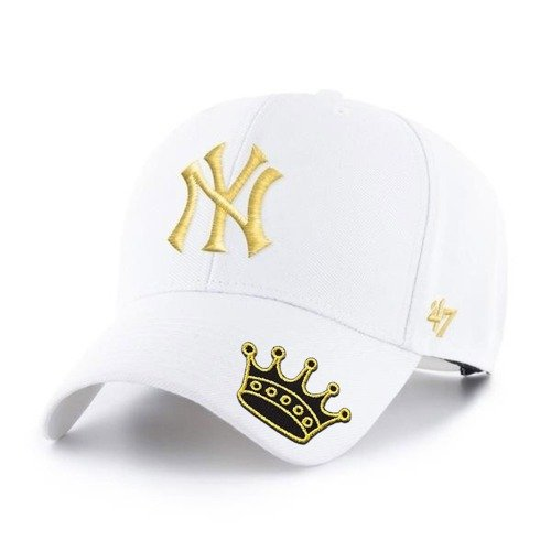 47 Brand MLB New York Yankees Snapback Custom Crown - B-MVPSP17WBP-WHE
