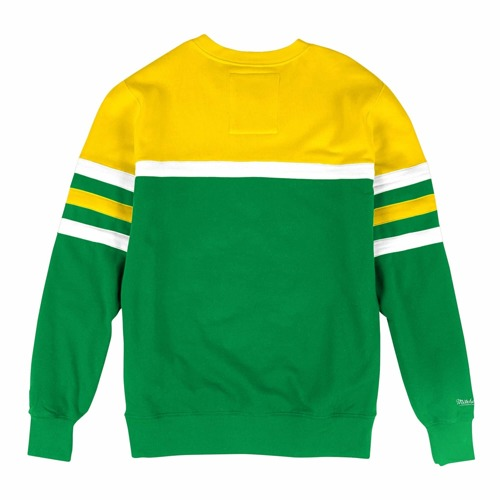 Mitchell & Ness NBA Boston Celtics Head Coach Crewneck