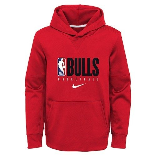 Nike Chicago Bulls Therma Spotlight Youth Hoodie - EZ2B7BBKP-BUL