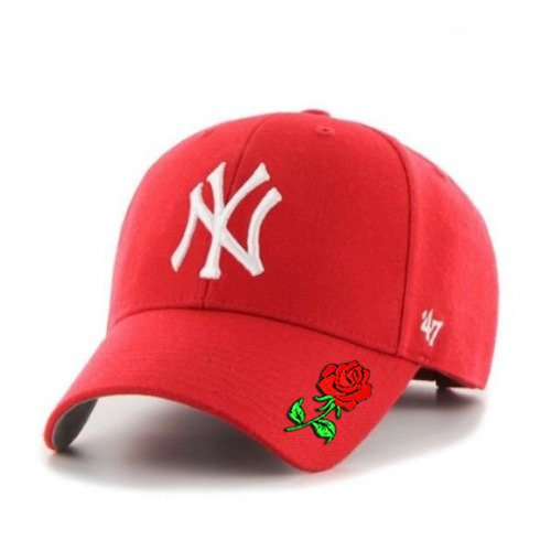 Snapback 47 Brand MLB New York Yankees '47 Custom Rose - MVP B-MVP17WBV-RD