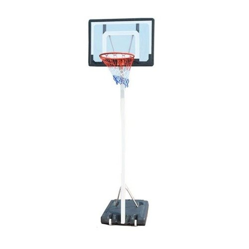 Spartan Portable Basketball Stand 1158 + Spalding Grip Control