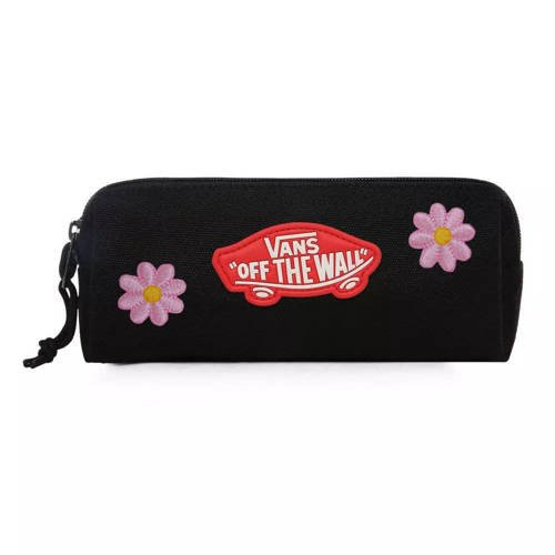 Vans OTW Pencil Pouch Black - VN0A3HMQA2T Custom Flowers